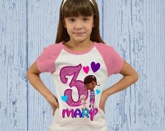 Doc McStuffins Birthday Shirt or Dress