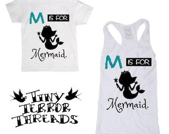 M is for Mermaid