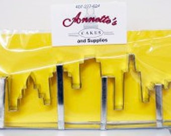 Cityscape Skyline Cutter, Buildings