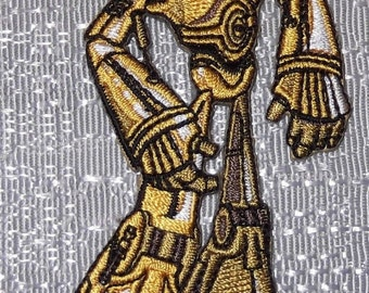 STAR WARS C3PO Animated Figure Embroidered PATCH