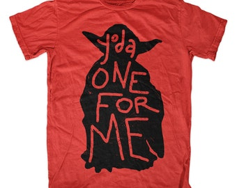 """Valentine's Day """"Yoda One For Me"""" T-shirt for Star Wars fans!!!"""