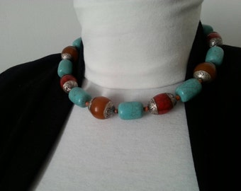 100% Tibetan necklace