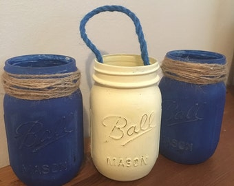 Beach house mason jars
