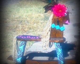 Custom rocking horses