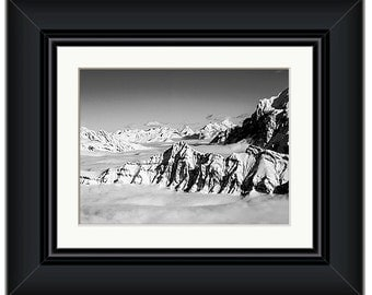 Swiss Alps Framed Print