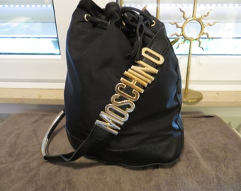 MOSCHINO Bucket Bag Redwall vintage