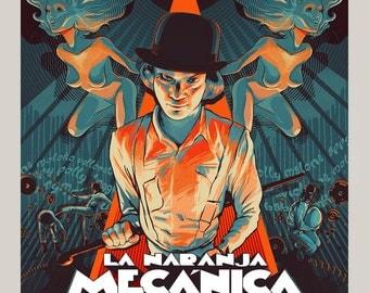 A Clockwork Orange Spanish Special Edition Print