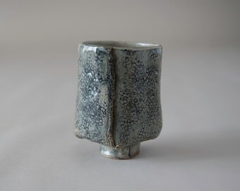 Textured Cup with Foot