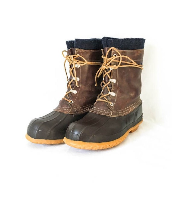 ll bean boots s size 8 bean boots leather