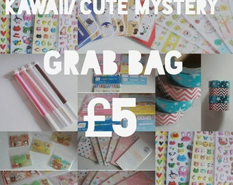 Kawaii/ Cute Grab bag/ mystery packs
