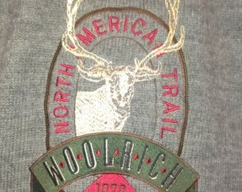 Men's Large Woolrich Sweater Moose