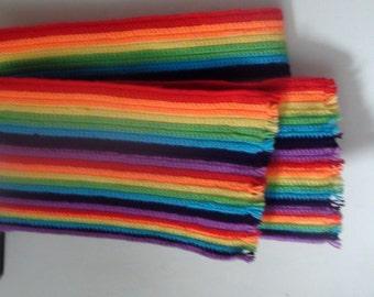 Rainbow Scarf.