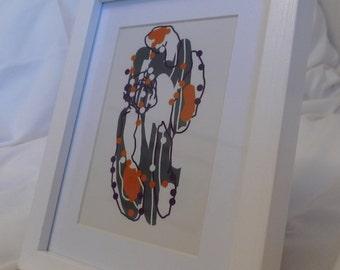 Digital Drawing - Framed Print #9