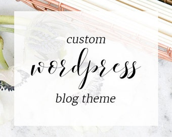 Custom WordPress Blog Theme