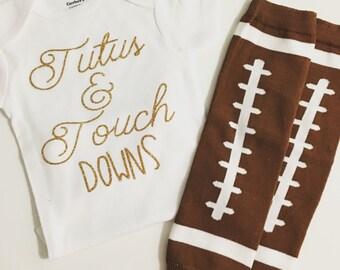 Tutu & Touchdowns Onesie Shirt