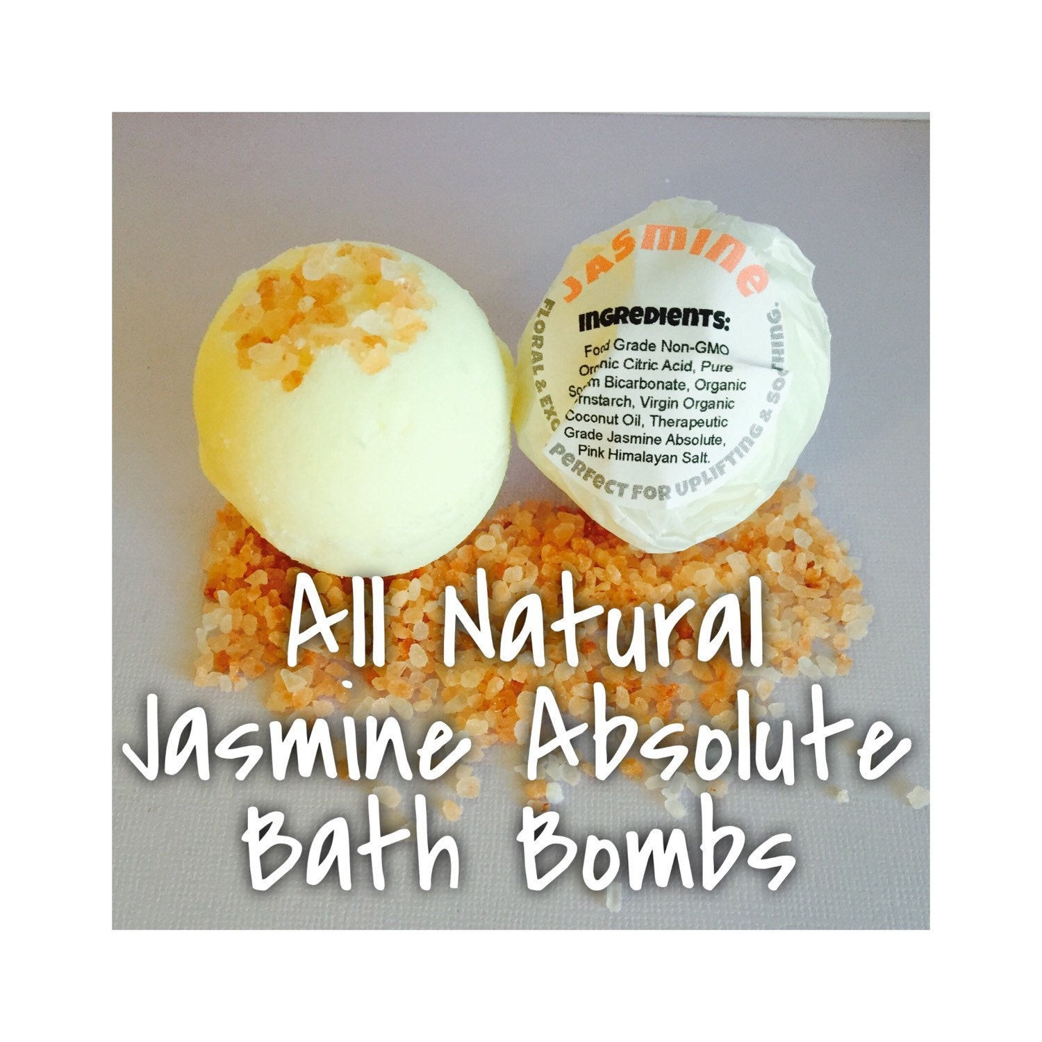 All Bath 30 Inch Wide White Bathroom Vanity Cabinet: Jasmine Bath Bombs All Natural Bath Bomb Made With