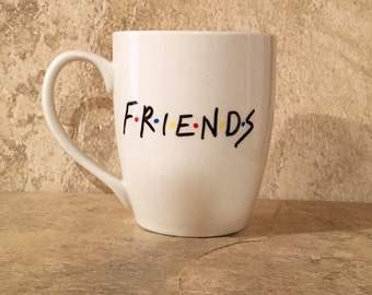 Coffee Mug Friends TV Show, Gift for Friends, Friends Coffee Mug, Friends Mug, Gift for Him, Gift for Her, Funny Mugs, Christmas Gift