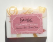 CHAMPAGNE KISSES | Glycerin Soap | Shea Butter | Mango Butter Cocoa Butter | The Graceful Rabbit