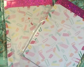 Confetti Note Pad