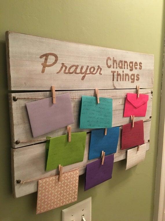 Wooden Prayer Board