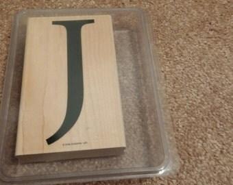 Letter J Stamp