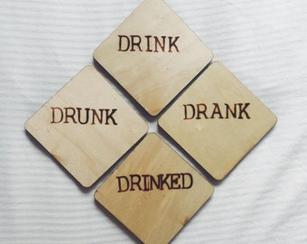 Hand Crafted Wooden Coasters