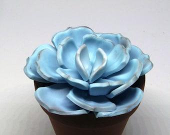 Gumpaste Succulent Small Wedding Cake Topper Cake Decoration Gumpaste Flower