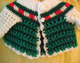 Holiday Baby Sweater,1-3mo.