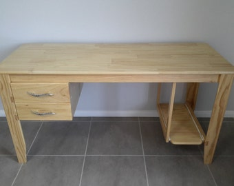 Home Office/student Desk, handmade custom design