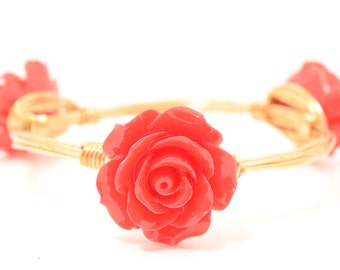 Red Rose Bangle