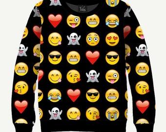 Smiles - Men's Women's Sweatshirt | Sweater - XS, S, M, L, XL, 2XL, 3XL, 4XL, 5XL