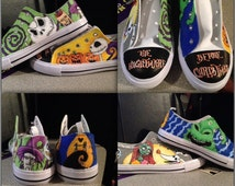 Ever wanted a pair of shoes covered in your most FAV cartoon character!?  I can do that for you!