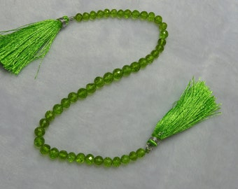 Peridot Faceted Round Beads, Peridot Faceted Beads, Peridot Beads