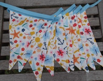 Sea-side themed bunting