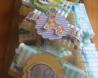 Baby Shower Party Favor Soaps