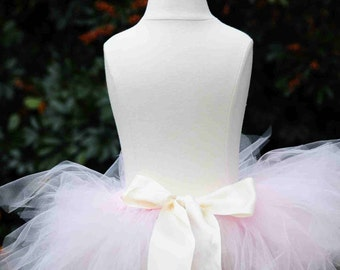 Ready To Ship!!!  Lt pink feather cut ballerina tutu..