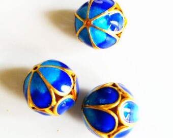 Filigree grilled Blue Pearl