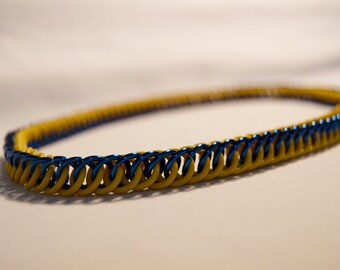 Stretchy Half Persian Chainmail Necklace