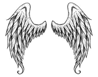 Angel Wings Temporary Tattoos