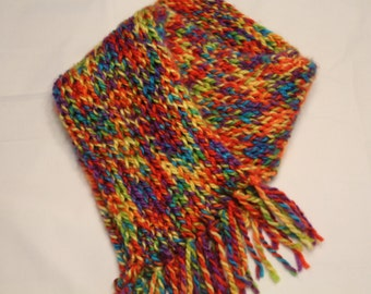 Multicolored Womens Scarf