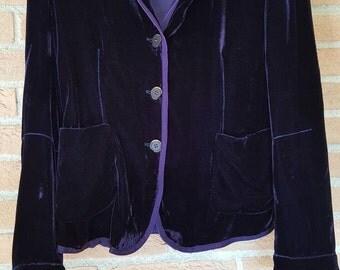 """Velvet Jacket """"Le Jean de Marithè + Francois Girbaud"""""""