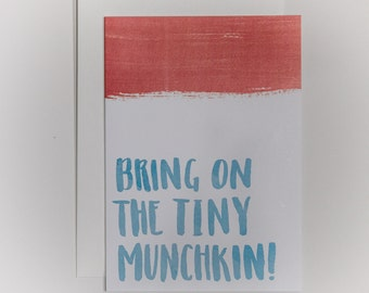 Bring on the Tiny Munchkin - Card