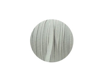 3mm White Skinny Headband Elastic - 5 Metres