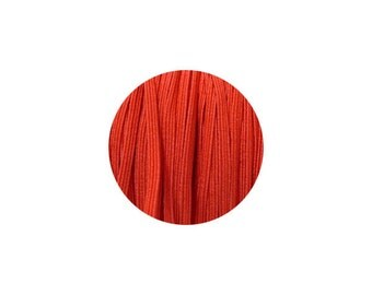 3mm Red Skinny Headband Elastic - 5 Metres