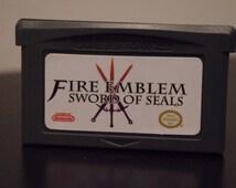 Fire Emblem: Sword of Seals (Nintendo Game Boy Advance, 2002) English / Tested