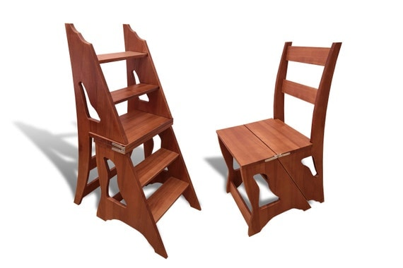 Wood Step Stool Step Stool Chair Chair Ladder Step