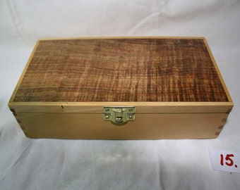Jewellery or treasure box - hand made