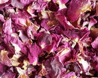 Dried Rose Petals:  2 ounces