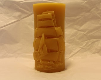 tall ship candle.