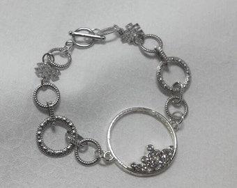 Silver Glitz & Glimmer Bracelet